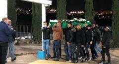 كفركنا : تشييع جثمان المرحوم منير عنبتاوي