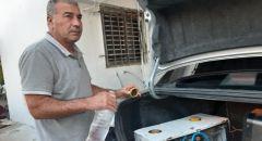 عرابة : علي نابلسي يخترع جهازاً يجعل محرك السيارة يعمل بالماء