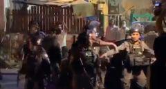ليلة مشحونة في الشيخ جراح: اصابات واعتقالات اثناء مظاهرة ضد اخلاء بيوت