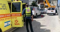 جلجولية ,, اصابة رجل سقط من ارتفاع