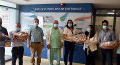 تكريم من مجلس المغار  لعمال المركز الطبي باده - بوريا
