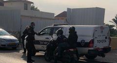 الشرطة تقوم بنشاط مركز في مدينة باقة الغربية لتطبيق قوانين السير
