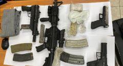 الشرطة تضبط منذ بداية العام مئات الاسلحة غير القانونية في الشمال