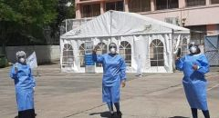كلاليت تفتتح مركزًا لإجراء فحوصات فيروس الكورونا في مدرسة ابن خلدون في الناصرة