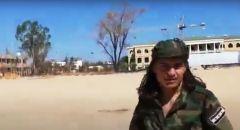 """المسماري ينشر فيديو لـ""""فرقة السلطان مراد"""" السورية في معسكر اليرموك الليبي"""