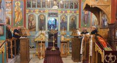 خدمة خميس الالام من كنيسة القديس جوارجيوس في الرامة