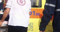 اصابة فتى تعرض للدهس في كفرمندا