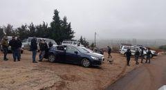 مجدل_شمس: الشرطة تركز قواتها في محيط القرية والمنادي ينادي اهل البلد النزول الى الأراضي