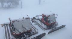 حالة الطقس: غائم جزيئًا وبارد وثلوج مفاجئة بكميات كبيرة على جبل الشيخ