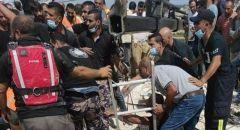 فاجعة في الخليل: مصرع 6 أشخاص بينهم طفل إثر سقوطهم في حفرة امتصاص