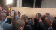 جلجولية: تشييع جثمان الفتى المرحوم محمد عدس بمشاركة جماهير غفيرة