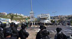 اعتقال 4 اشخاص خلال مواجهات بين الشرطة والمواطنين بمظاهرة في مدينة ام الفحم