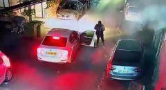 توثيق بالفيديو :إطلاق نار كثيف على منزل في بلدة نحف