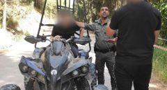 تحرير مخالفات لسائقي التراكتورونات في حملة موسعة للشرطة بمنطقة الشمال