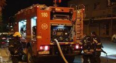 قلنسوة : التحقيق بملابسات اندلاع حريق في مخزن