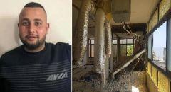 مصرع الشاب محمد فراس سليمان ضحية حادث العمل في المشهد