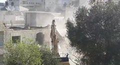 القدس: هدم منزل حارس الأقصى فادي عليان بذريعة البناء بدون ترخيص