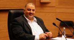 انتخاب النائب د. منصور عباس نائباََ لرئيس الكنيست