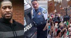 """مدن أميركية """"تشتعل"""" ومواجهات دموية مع الشرطة والاحتجاجات تتصاعد بعد مقتل مواطن على يد الشرطة"""