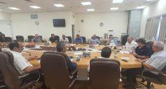 الموحدة تجتمع مع رؤساء السلطات المحلية العرب
