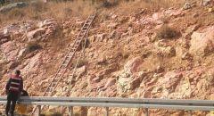 """اندلاع حريق هائل في منطقة حرشية في """"نيس هاريم"""" - قرب القدس"""