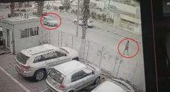 توثيق فيديو لحادث دهس بالقرب من طبريا