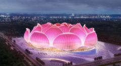 """الصين تشرع ببناء أكبر استاد بمدينة """"قوانغتشو"""" لكرة القدم في العالم"""