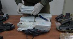 احباط محاولة تهريب أسلحة ومخدرات من لبنان بقيمة 2 مليون شيكل  واعتقال اب وابنه من جديدة المكر
