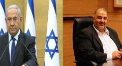 نتنياهو يضغط على عباس لإفشال تشكيل حكومة التغيير