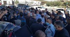 قافلة السيارات تصل مدينة القدس
