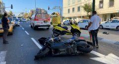 اصابتان بجراح متفاوتة  جراء حادث دهس في تل ابيب