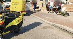 أشكلون : مصرع طفل (5 سنوات) بعد تعرضه للدهس من قبل شاحنة