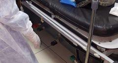 6 اصابات بين شرطة حرس الحدود و4 فلسطينيين بعد  مواجهات عنيفة في مخيم قلنديا