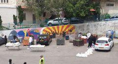 الرامة : المجلس المحلي يبادر لتوزيع خضروات على اهل البلدة