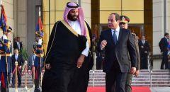 السيسي يوجه رسالة إلى الأمير محمد بن سلمان