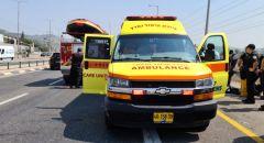إصابة سيّدة بجراح بالغة الخطورة في حادث طرق على شارع 75