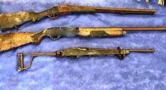 ساجور,,, ضبط اسلحة وذخيرة واعتقال مشتبه