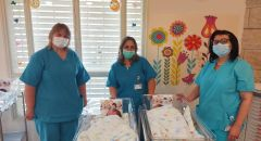 ولادة 11 توأمًا في الإنجليزي للحمل، الولادة وطب النساء خلال الشهر الأخير
