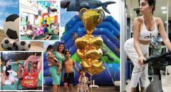جورجينا تنشر شريط فيديو طريفا لاحتفال نجل رونالدو بهدف والده في شباك إنتر