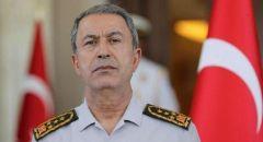 """أكار يعد بـ""""تطورات مهمة"""" على صعيد تعاون أنقرة مع بغداد وأربيل لمكافحة الإرهاب"""