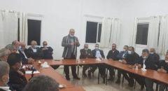 فوز محمد بركة كرئيس للجنة المتابعة العليا  بنسبة %87 من أعضاء المجلس المركزي