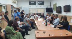 إجتماع طارئ في بلدية سخنين حول مظاهر الإزعاج في البلدة