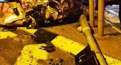 ام الفحم: اصابتان متوسطتان في حادث طرق في مدخل البلدة