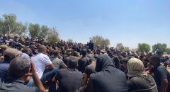 بلدة حورة تشيع جثمان الشاب عزات موسى أبو سبيت.
