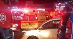 رهط : اصابة خطيرة لراكب دراجة هوائية بحادث ضرب وهرب