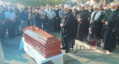الالاف يشاركون في تشييع الفقيد ساهر اسماعيل