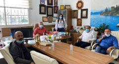 جولة ولقاءات لممثلي بلدية سخنين في  المدارس الابتدائية