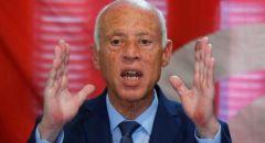 الرئيس التونسي يعلن توليه السلطة التنفيذية ويقيل الحكومة ويجمد البرلمان