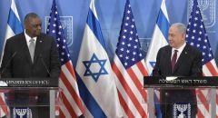 نتنياهو يلتقي بوزير الدفاع الأميركي لويد أوستن