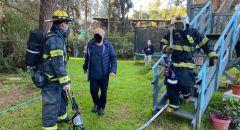 بيتح تكفا: اندلاع حريق داخل منزل واصابيتن احداها خطيرة